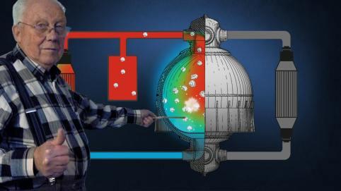 REVES FONDUS - Alfred Lecocq, inventeur & schéma combustible liquide
